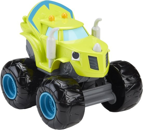 Fisher Price Blaze en de Monsterwielen pratende Zeg geel