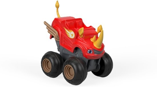Fisher Price Blaze en de Monsterwielen Rhino 12 cm rood