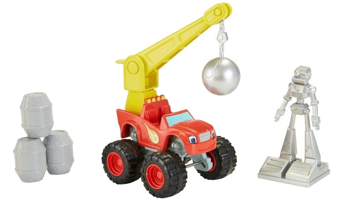 Fisher Price Blaze en de Monsterwielen: Wrecking Crane 7 cm