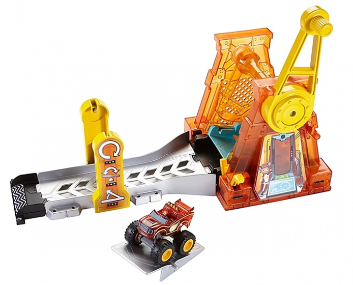 Fisher Price Blaze lanceerbaan Hyperloop