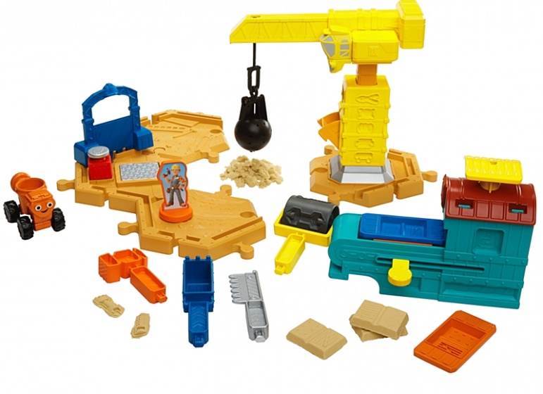 Fisher Price Bob de Bouwer bouwplaats met speelzand