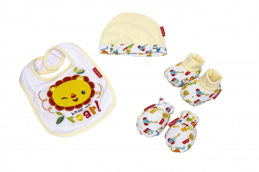 Fisher Price cadeauset baby 4 delig