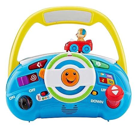 Fisher Price leerplezier puppy's chauffeur activity speelgoed