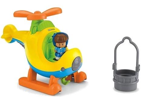 Fisher Price Little People Draai & Vlieg helikopter