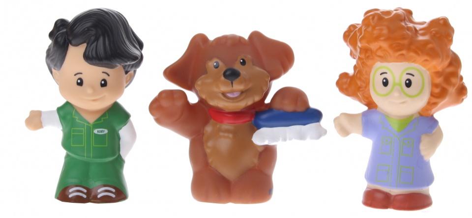 Fisher Price figuren Little People hond 3 delig