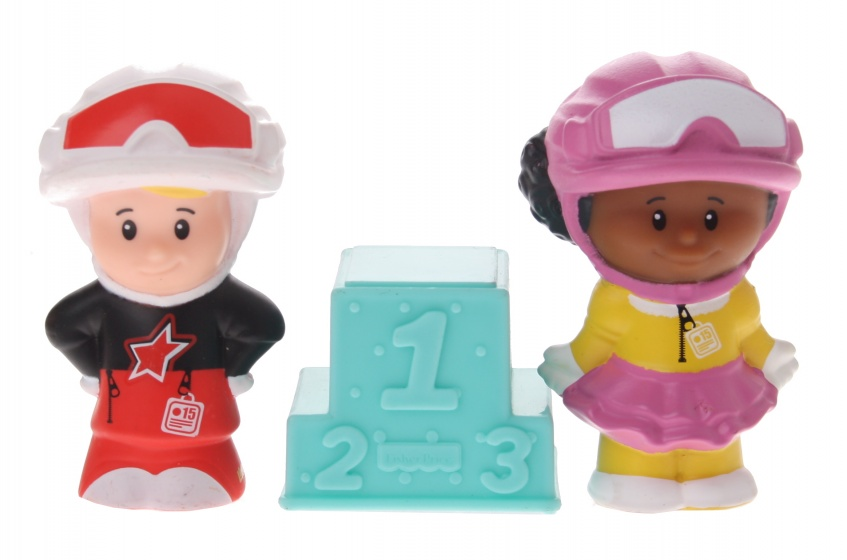 Fisher Price Little People figuren race 3 delig