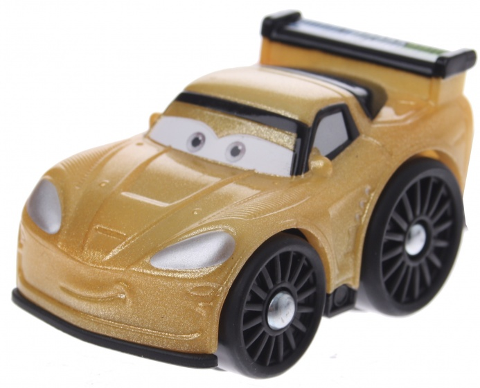 Fisher Price Little People Wheelies Cars Jeff Gorvette 6 cm