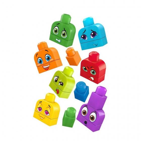 Fisher Price Mega Bloks Bouw & Leer Emoties