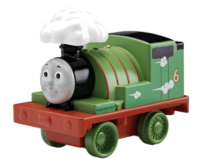 Fisher Price My First Thomas & Friends: locomotief Percy13 cm