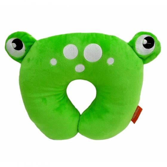 Fisher Price nekkussen 27 x 27 x 6 cm kikker groen kopen