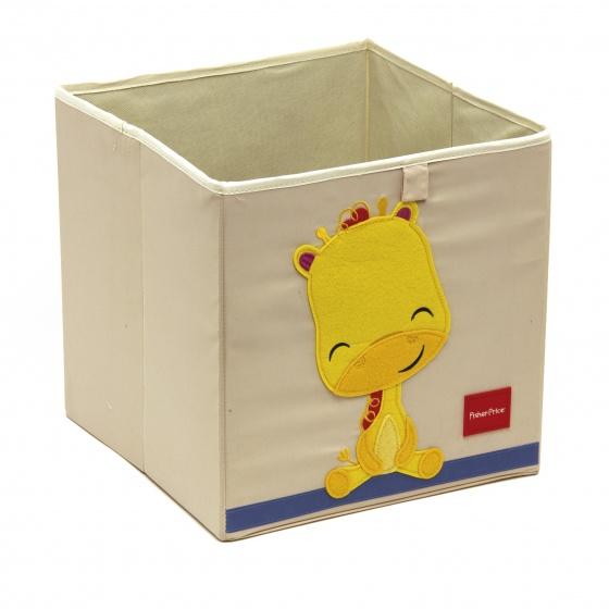 Fisher Price opbergbox giraffe 36 liter wit