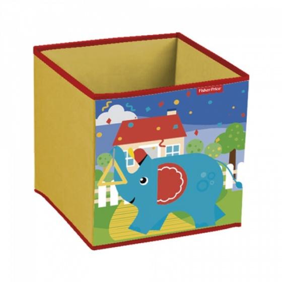 Fisher Price opbergbox olifant 31 x 31 x 31 cm geel