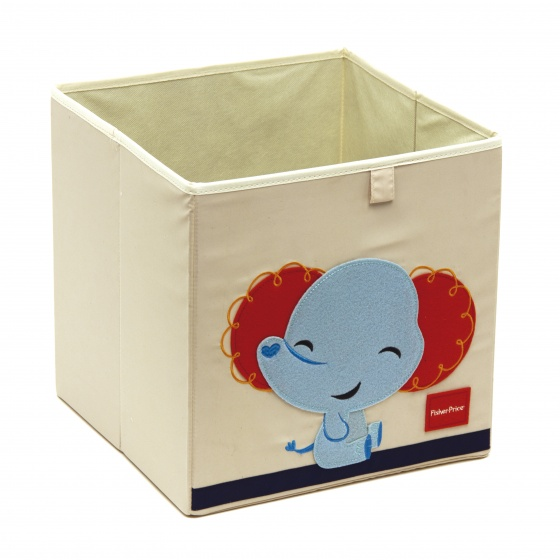 Fisher Price opbergbox olifant 36 liter wit