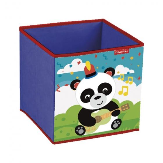 Fisher Price opbergbox panda 31 x 31 x 31 cm paars