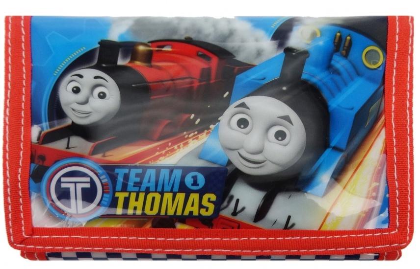 Thomas de Trein Portemonnee 25x13 cm blauw/rood