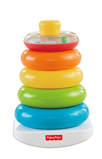 Fisher Price Pyramide Stapelringen 7 delig 29 cm