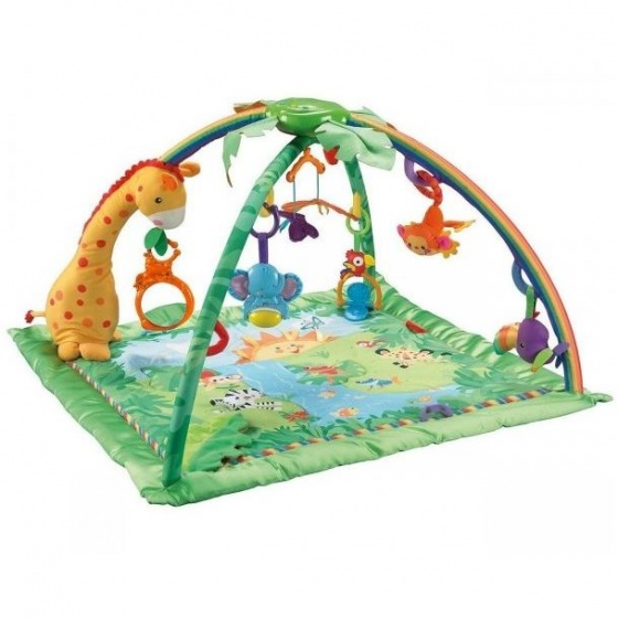 Fisher Price Rainforest Luxe Melodietjes & Lichtjes babygym