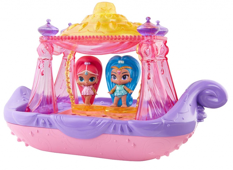 Fisher Price Shimmer en Shine Swing and Splash boot 30 cm
