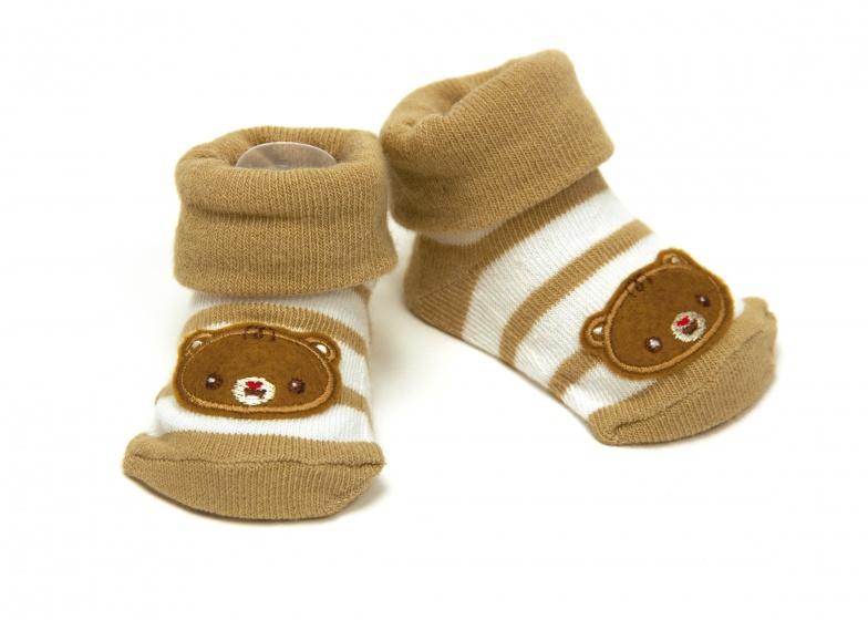 Fisher Price sokken beer bruin 0 6 maanden kopen