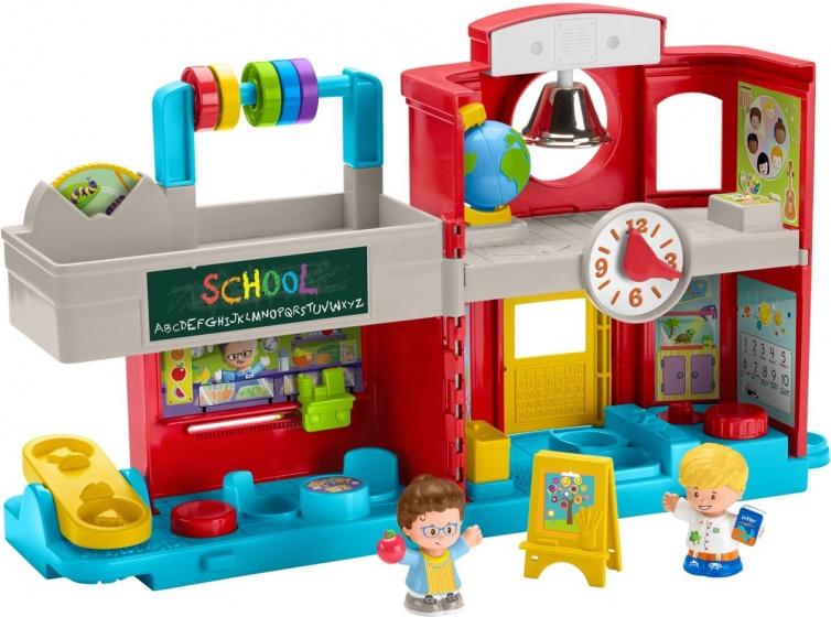 Fisher Price speelset Little People Vriendelijke School 4 delig