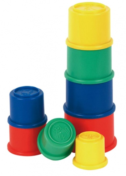 Fisher Price stapelbekers kunststof 8 delig
