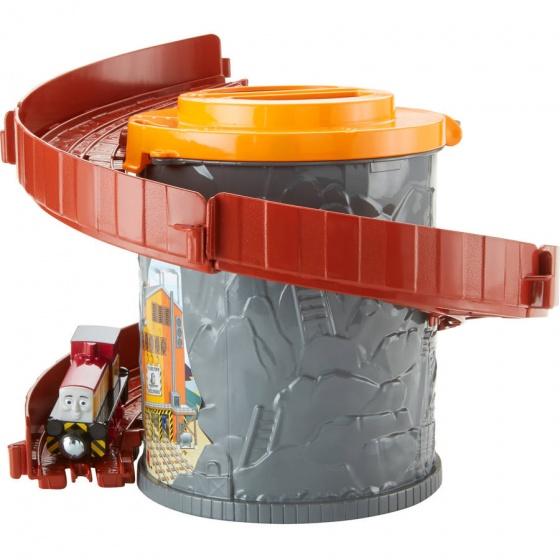 Fisher Price Take n Play Spiral Tower lanceerbaan grijs