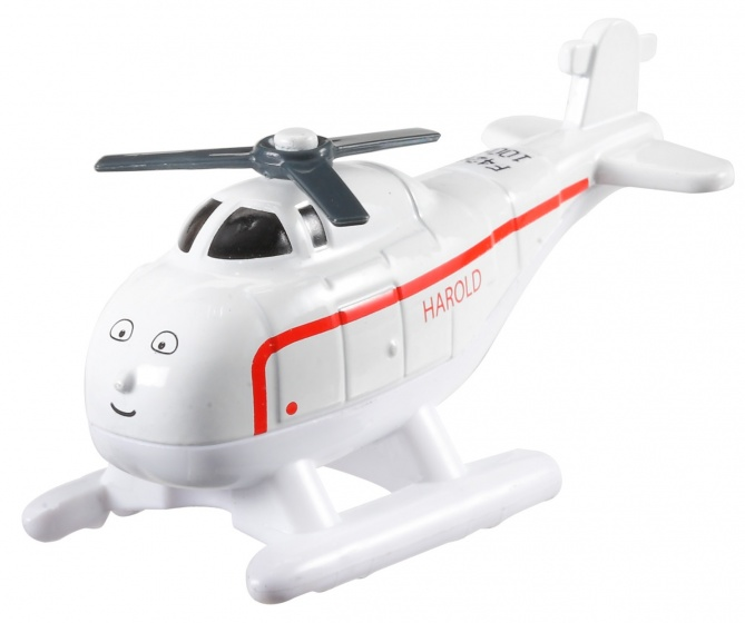 Fisher Price Thomas Adventures helikopter Harold wit 9 cm