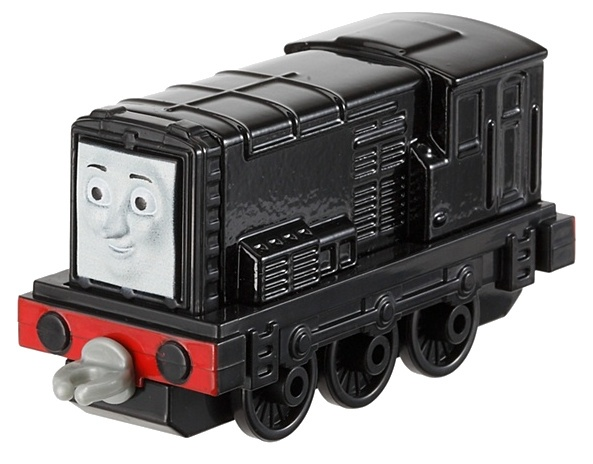Fisher Price Thomas Adventures locomotief Diesel 8 cm