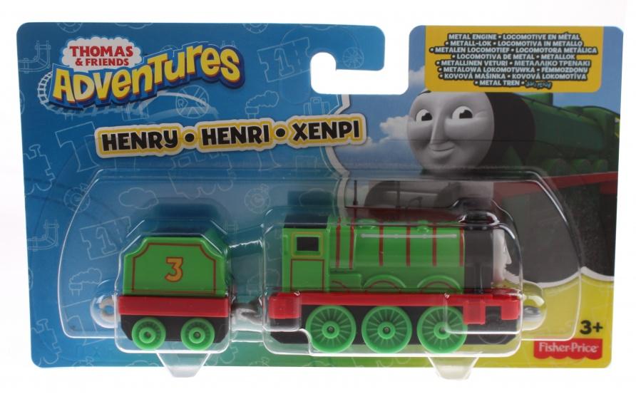 - Fisher Price Thomas Adventures locomotief Henry 8 cm