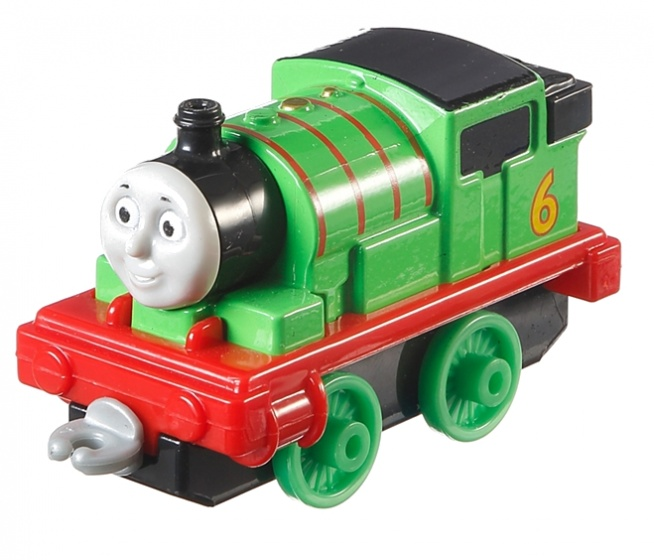 Fisher Price Thomas Adventures locomotief Percy 8 cm