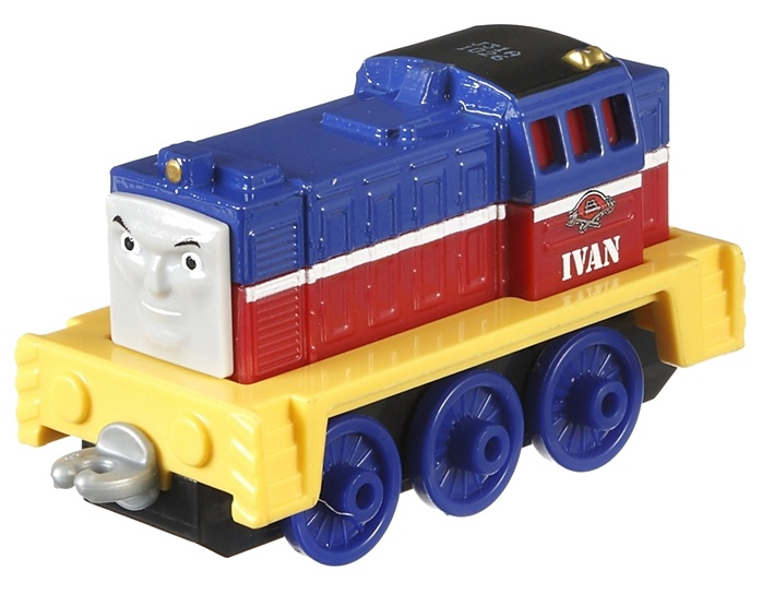 Fisher Price Thomas Adventures locomotief Racende Ivan 8 cm