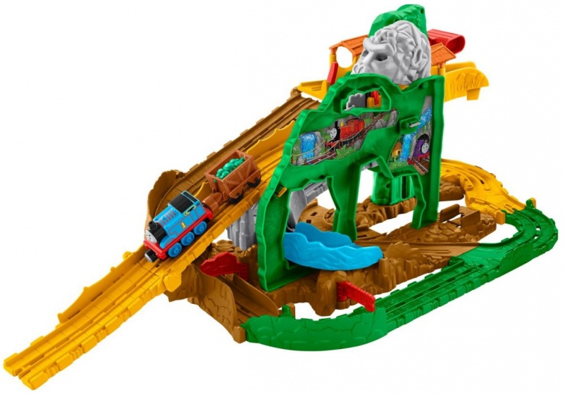 Fisher Price Thomas de Trein Jungle Avontuur Treinbaan