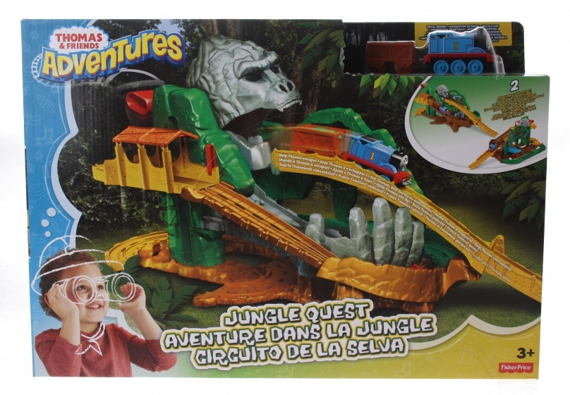 Toys And Adventures : Fisher price thomas friends adventures jungle adventure