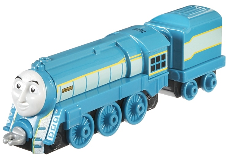 Fisher Price Thomas & Friends locomotief Connor 14 cm