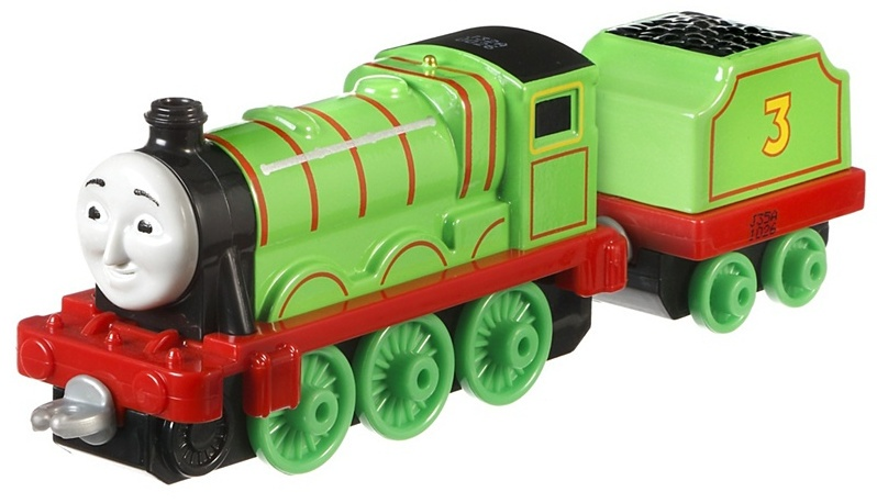 Fisher Price Thomas & Friends locomotief Henry 14 cm