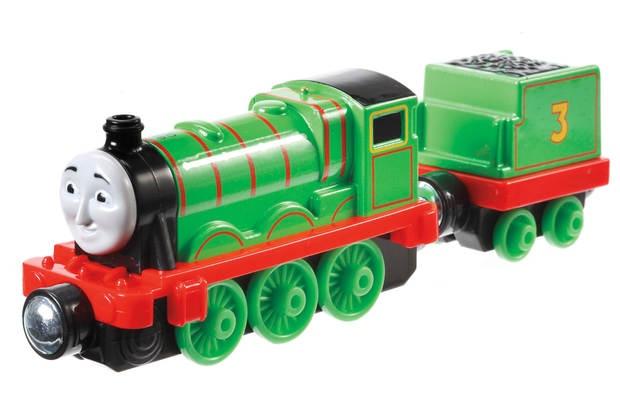 Fisher Price Thomas & Friends Take n Play Henry trein 12 cm
