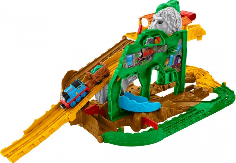 Fisher Price Thomas & Friends Take n Play jungle speelset S