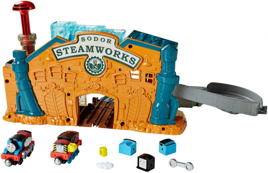 Fisher Price Thomas & Friends Take n Play locomotief bouwen