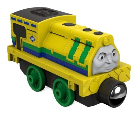 Fisher Price Thomas & Friends Take n Play racende Raul 7 cm