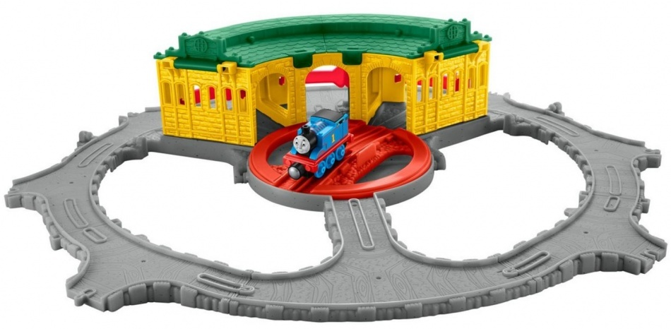 Fisher Price Thomas & Friends Take n Play Tidmouth Sheds