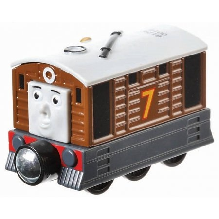 Fisher Price Thomas & Friends Take n Play Toby tram 7 cm