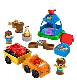 Fisher Price Vakantie Speelset Little People