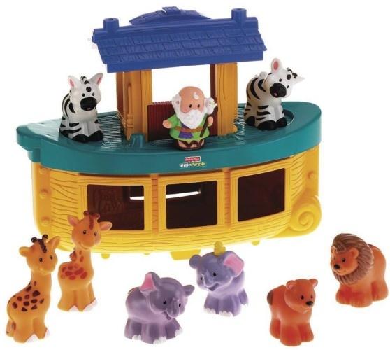 Fisher Price Ark van Noach 8 dieren