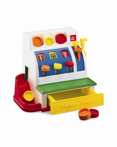 Fisher Price Kassa Met Munten
