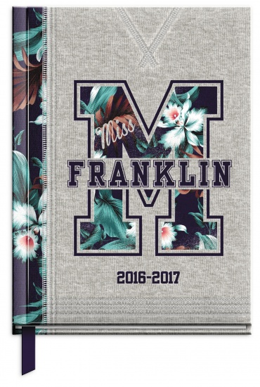 Franklin And Marshall Agenda 2016/2017 Grijs