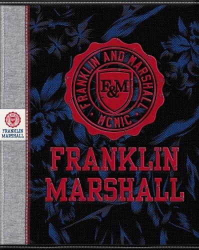 Franklin And Marshall Schrift A5 Lijn Zwart