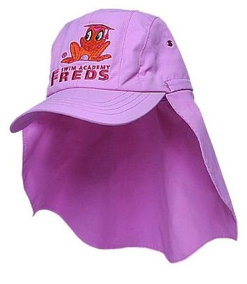 Freds Swim Academy baba rose hoed maat 46 48 lila
