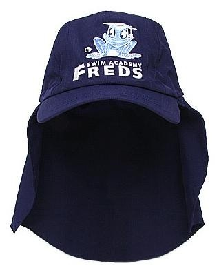 Freds Swim Academy deep sea hoed maat 42 44 donkerblauw