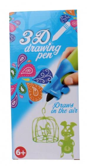 Free and Easy 3D tekenpen groen 14 x 5,5 x 3,5 cm