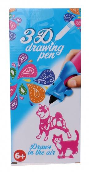 Free and Easy 3D tekenpen roze 14 x 5,5 x 3,5 cm